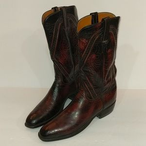 Lucchese San Antonio Cowboy Boots Size 9 B